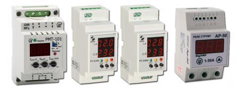 реле контроля тока с цифровой индикацией величины тока