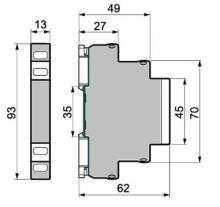 модульный корпус 13 мм