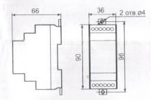 габариты ТР-75М