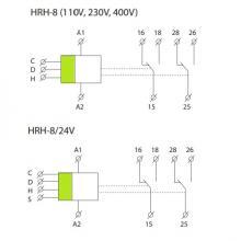 контактные группы HRH-8