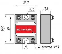 габариты MD-1044