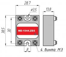 габариты реле MD-1544