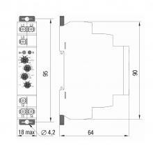 габариты реле контроля фаз ORF-06