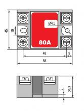 габариты RTP-1-80