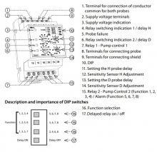 схема расположения контактов hrh 8