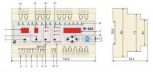 внешний вид и габариты таймера ТК-415