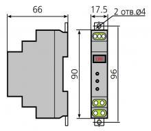габариты реле ТР-79М
