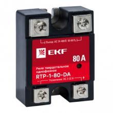 Реле твердотельное однофазное RTP-80-DA EKF