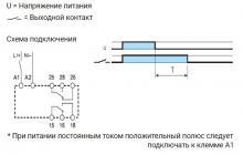 схема работы и схема подключения реле серии 83