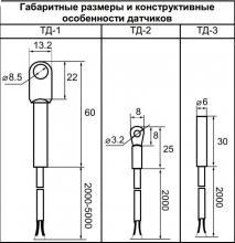 типы датчиков для ТР-М02
