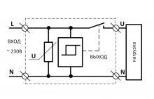 схема подключения ограничителя мощности ОМ-63