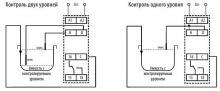 схема подключения датчиков HRH-5
