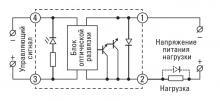 схема подключения твердотельного реле RTP-25-AA