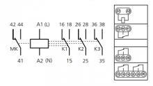 схема реле РВ-3М