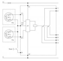 схема подключения CM-MSS.51S