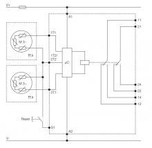 схема подключения CM-MSS.51P