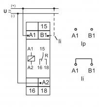 схема подключения E1ZI10