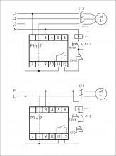 схема подключения PR-617
