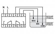 схема подключения PZ 828