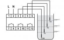 схема подключения PZ-831