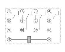 схема реле рэк 77-4