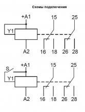 контакты РВО П2 М 15