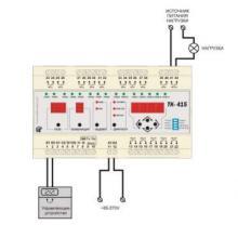 схема подключения ТК-415