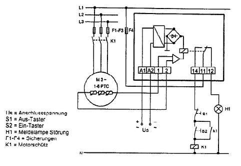 MS 220 C схема подключения